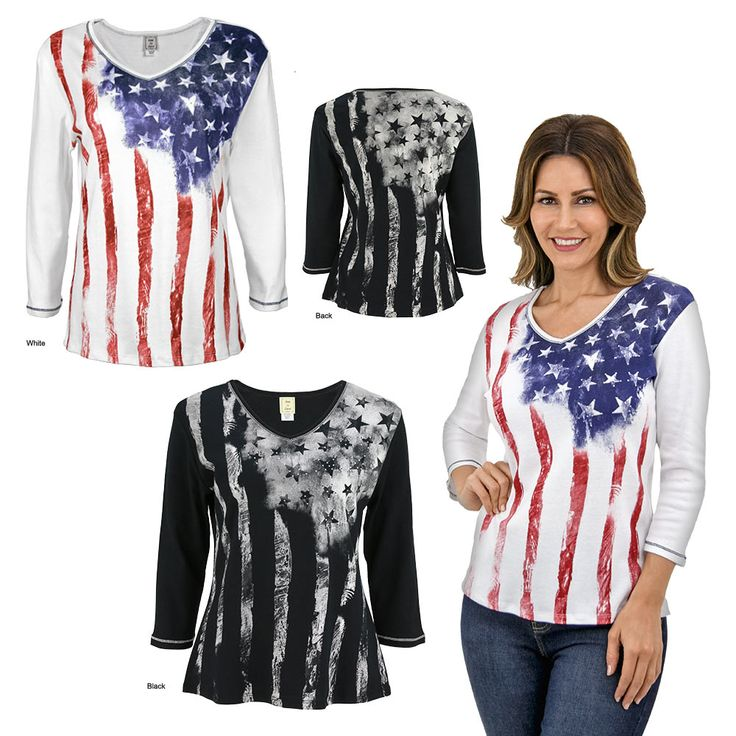 Old Glory Baby Rib Top at The Veterans Site