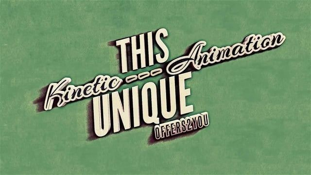 Vintage Retro Kinetic Typography After effects Templates & After Effects Projects  xFxDesigns : http://videohive.net/item/kinetic-typography-vintage-retro-style/4799271?ref=xFxDesigns Hello Everyone This Is My 3rd Typography Project ,This Time In The Authentic Vitage Retro Style ! Enjoy !   Featuring  Authentic Vintage Retro Style  45 sec Dynamic animation  In 3 resolutions 1080,720,540 Neatly organized  Both Preview Versions included (3d and 2d lite ) Extremely easy to customize  ...