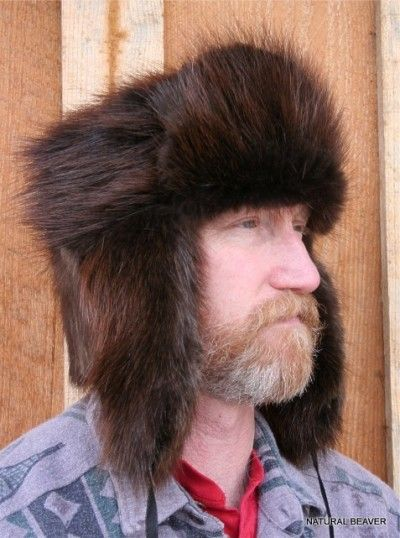 7ac070d5bc5 BEAVER FUR RUSSIAN TROOPER STYLE HAT