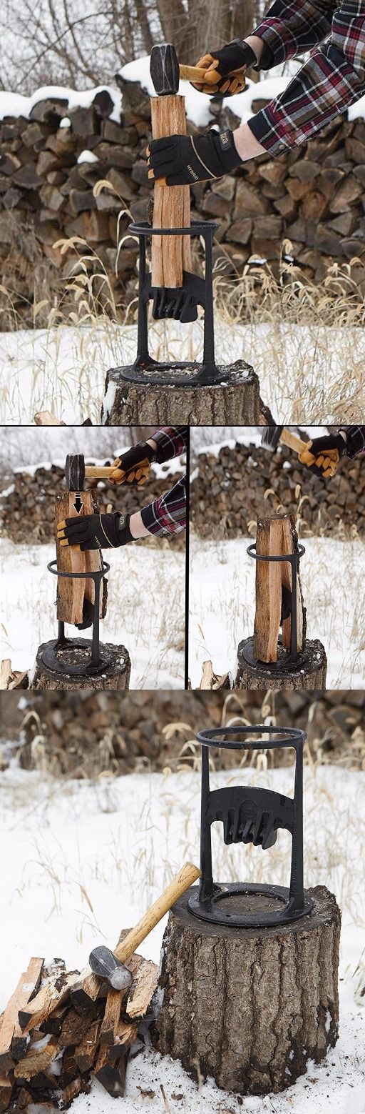 Kindling Cracker Firewood Kindling Splitter #firewood @thistookmymoney