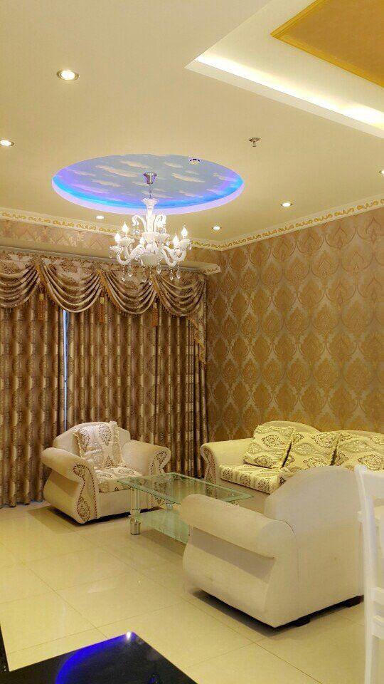 Phòng khách tại Căn hộ Docklands cho thuê. Chi tiết tại: www.canhodocklands.info