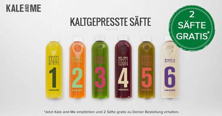 Die Kale&Me Cleanse Saftkur wurde von Ernährungsexperten entwickelt…