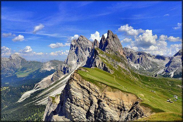 海外旅行世界遺産 ドロミーティ イタリア