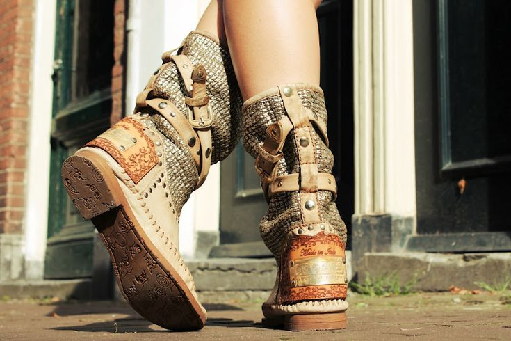 Boots by Karma of Charme. I need these babies in my life!