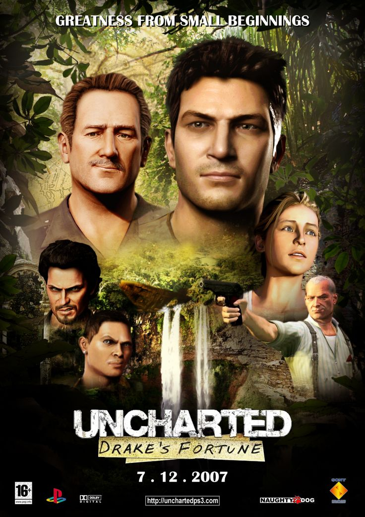 Uncharted : Drake's Fortune by ikozmon.deviantart.com on @deviantART
