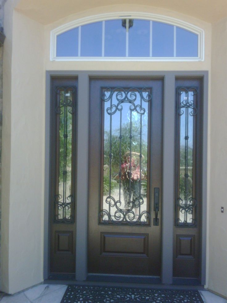 1000 ideas about fiberglass entry doors on pinterest for Entry doors with sidelights