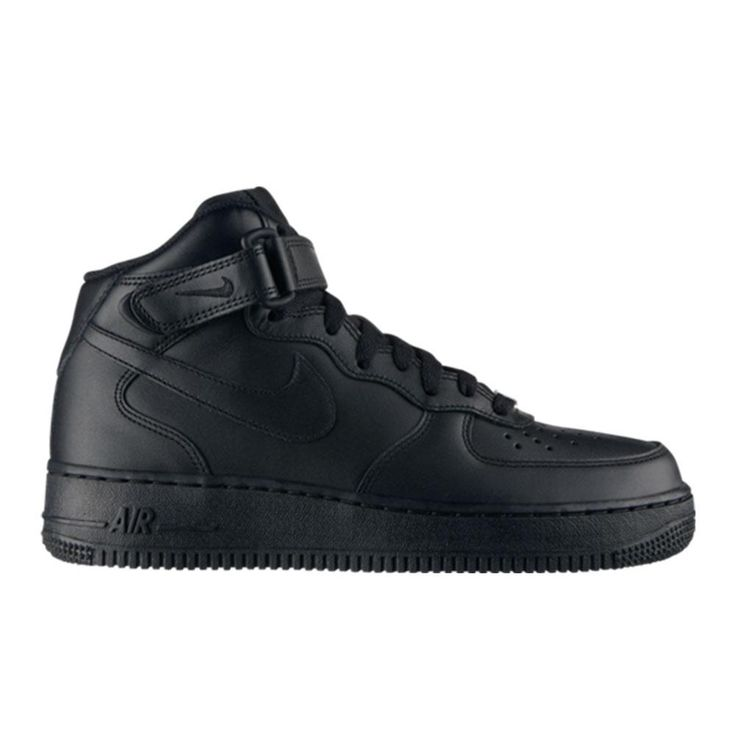Nike - Air Force 1 Mid '07 - Black - Womens $170.00 NZD  I have always loved air force ones (Nelly's Air Force Ones slowly starts to get stuck in my head) but I do prefer WHITE over black ...the black ones are dope tho