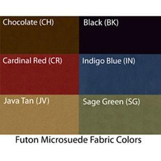 Blazing Needles Vitality 8-inch Micro Suede Size Futon Mattress