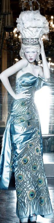 Patrick Demarchelier's 'Dior Couture' | cynthia reccord
