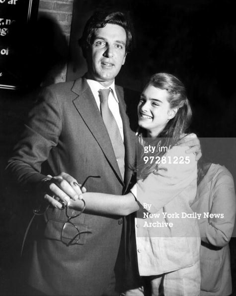 Photo of Brooke Shields & her Father  Francis Alexander Shields