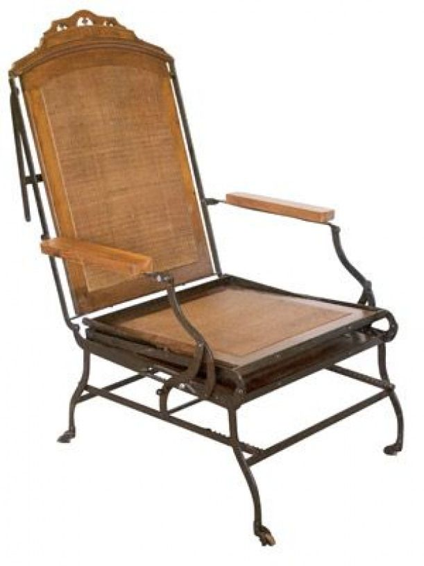 Late 19th Century Chaise Longue 180000 In 1876 Cevedra Sheldon A Prolific New York Citybased Architect Inventor Filed