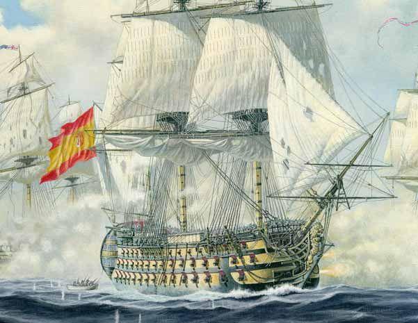 El espantoso primer viaje del navío Príncipe de Asturias