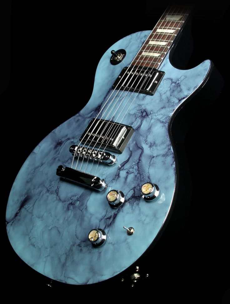 "2015 Gibson Les Paul Classic in painted Turquoise ""Rock"" finish"