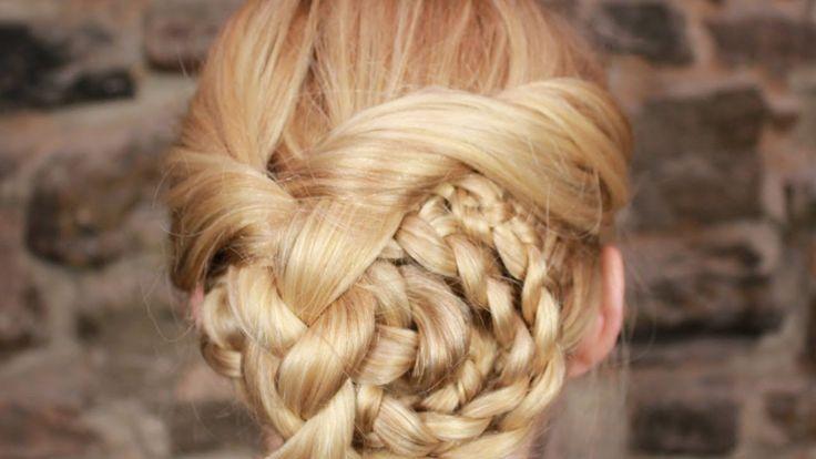 Модные прически с косами на длинные волосы (3 часть)