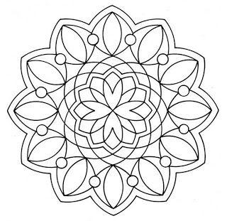 Adoro Artesanato: Desenhos de mandalas para fazer com cd