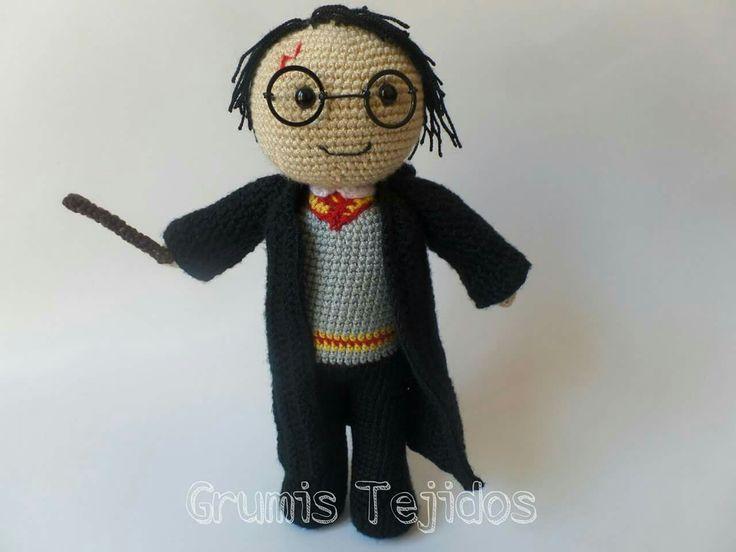 Patrones Amigurumi Harry Potter : Mas de 1000 imagenes sobre Mis amigurumis en Pinterest ...