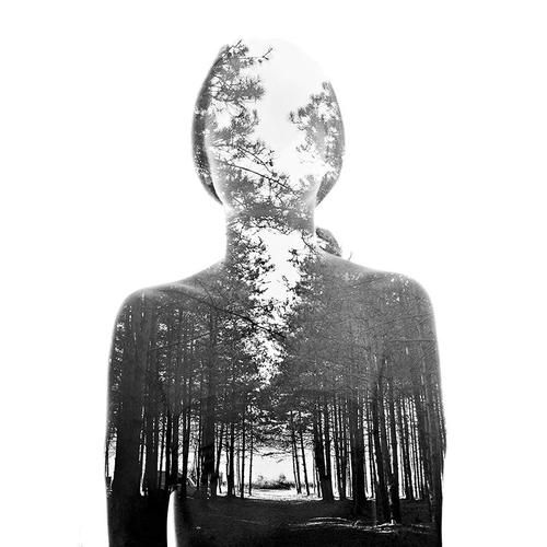 Double exposure portraits by aneta ivanova inspiration grid design inspiration
