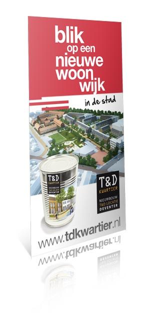 Rollbanner T locatie, Deventer