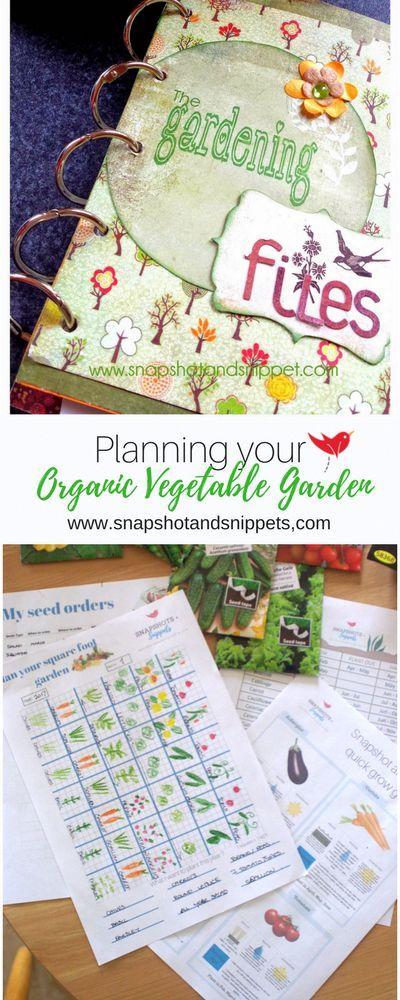 Planifiez votre jardin potager biologique