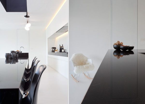 Minimal interiors by Egide Meertens Architecten | Plastolux