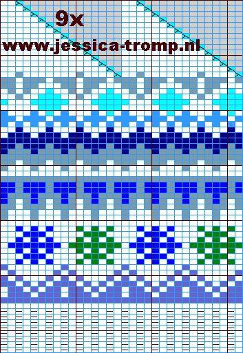 hat knitpattern 22x29 a