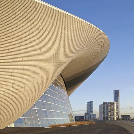 RIBA Stirling Prize 2014 shortlist announced – London Aquatics Centre by Zaha Hadid Architects.