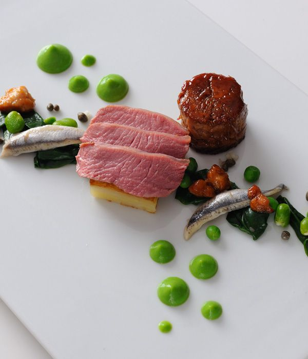 Lamb rump is an underrated yet supremely tasty cut. In this lamb rump recipe, Alan Murchison teases out all of its qualities - serving with a pea purée, anchovies and wild garlic.