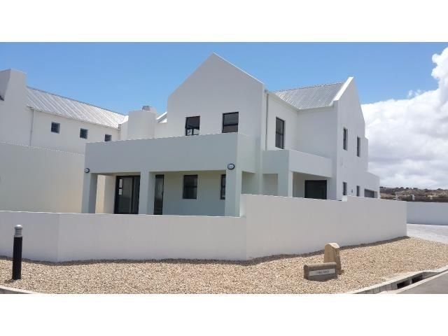 Another new 4 bedroom home in Blue lagoon overlooking the greenbelt towards Calypso Beach and the Langebaan Lagoon.This fantastic home is situated on a corner plot with a well sized garden. One bedroom with on-suite bathroom is on the first level and the other 3 bedrooms are on the second. The Main bedroom has an on suite bathroom and large walk-in closet. Both this room and the entertainment room opens up on a large balcony where from one can enjoy the scenic view. The large open plan…