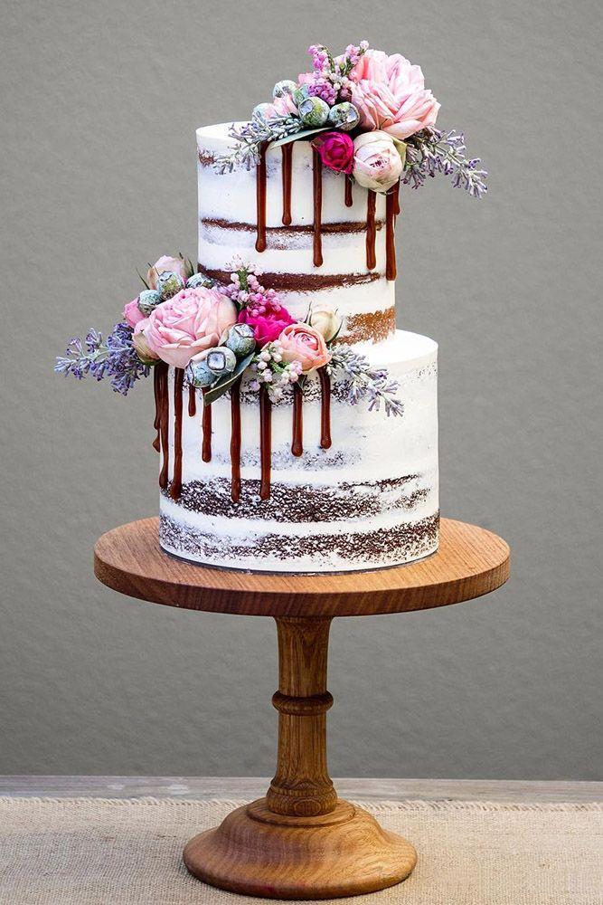 42 Rustikale Hochzeitstorten, die man gesehen haben muss   – Renewal