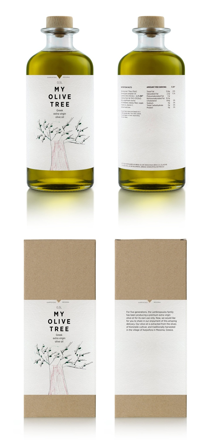My Olive Tree branding by Mousegraphics.