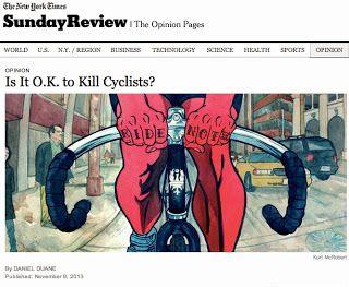 Bike Snob Response to NY Times