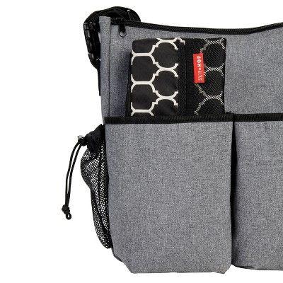 Skip Hop Grab and Go Wet-Dry Bag - Onyx Tile, Black/White
