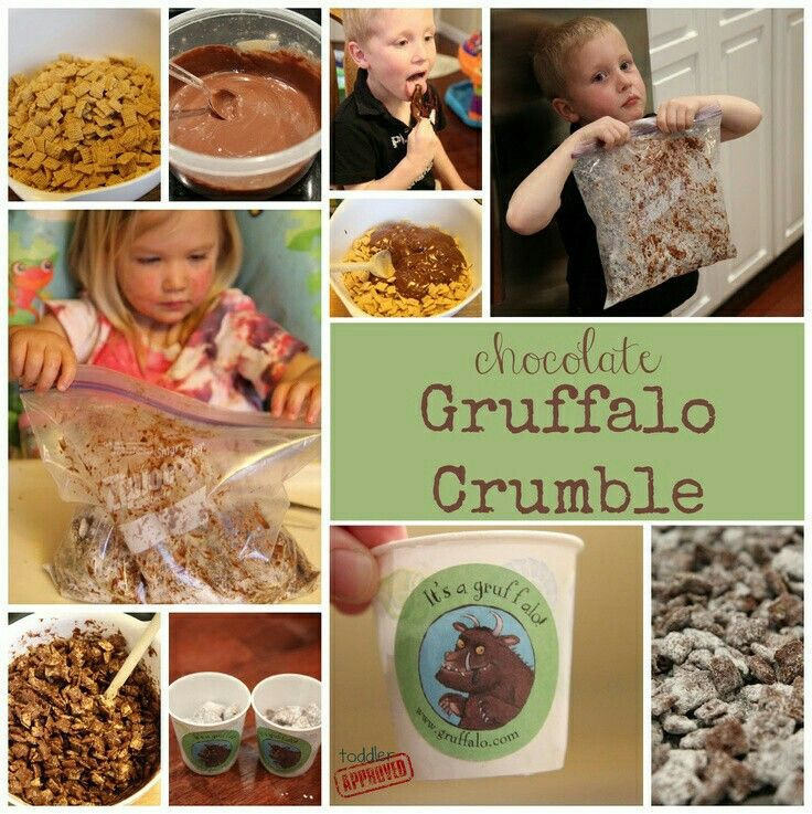 Gruffalo crumble school stuff pinterest for Julia child cooking school