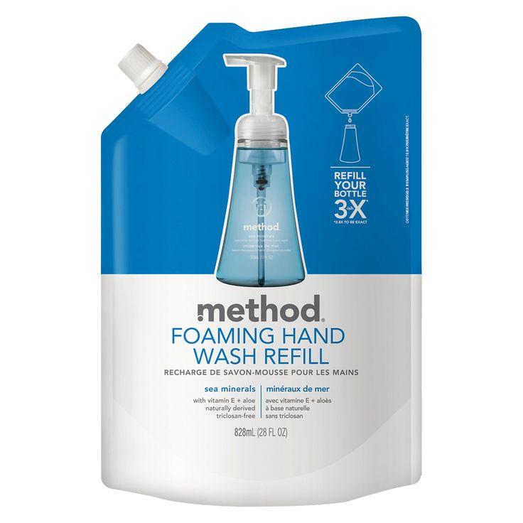 Method Foaming Hand Soap Refill Sea Minerals - 28oz