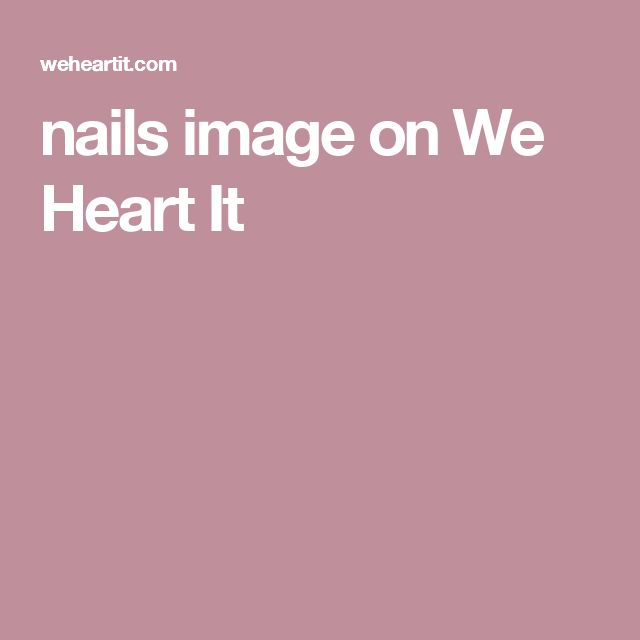 nails image on We Heart It