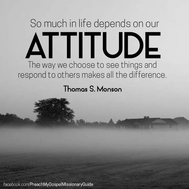 New Attitude Quotes And Sayings: LDS Quotes