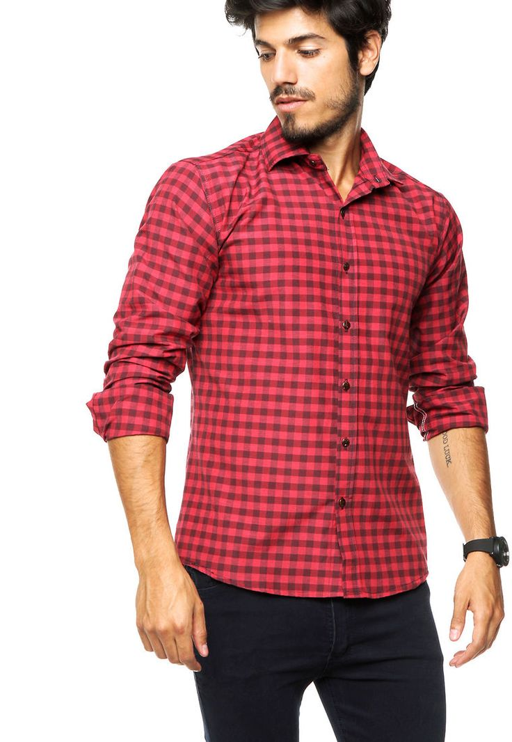 Camisa Roja Dinamarca Bestia - Comprá Ahora | Dafiti Argentina