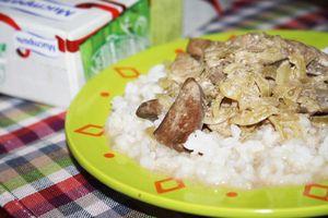 Фото к рецепту: Говяжья печень  Нежность  или  Обед без бед за 15 минут