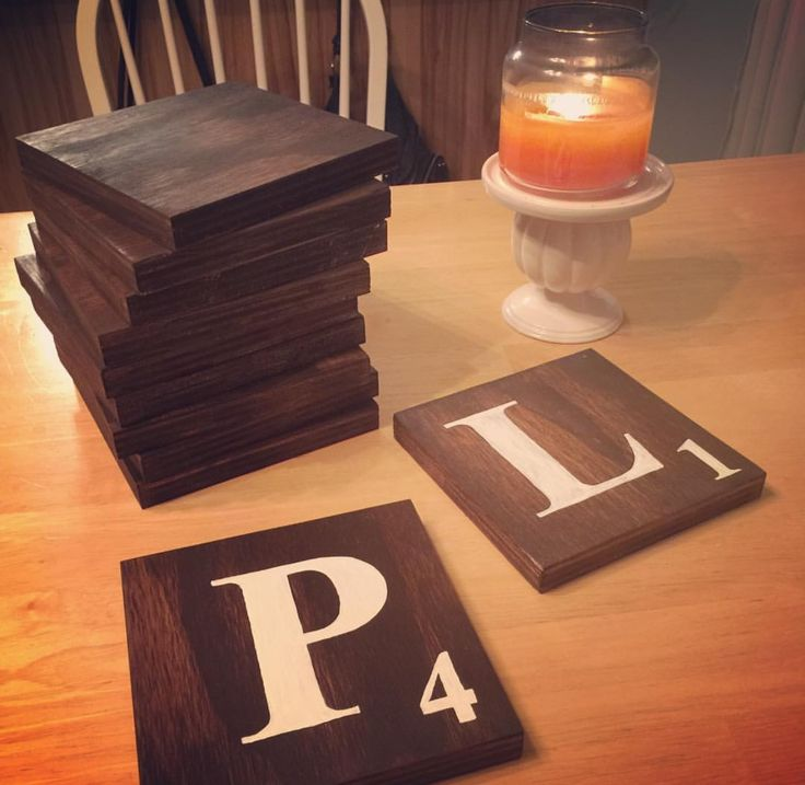 Rachel n' Co.: DIY Scrabble Wall Tiles