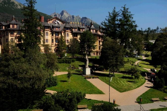 Grandhotel **** Starý Smokovec, High Tatras, #Slovakia