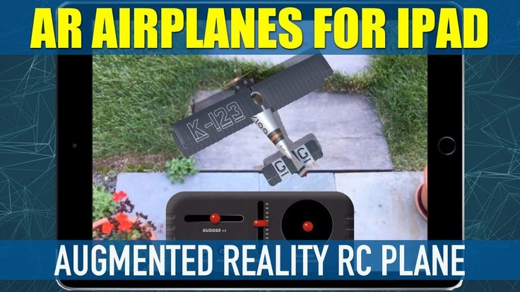 AR AirPlanes Augmented Reality RC Plane App for iPad IPhone