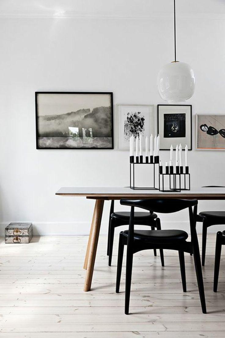 Kerzenständer schwarz dänisches Design