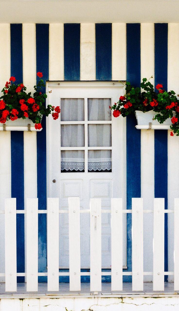 Costa Nova - #Aveiro - www.enjoyportugal.eu or our facebook page - https://www.facebook.com/enjoyportugalcountry #portuguese_doors #portugal