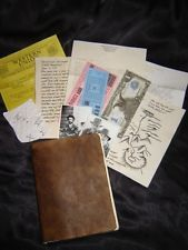 INDIANA JONES AND THE LAST CRUSADE - GRAIL DIARY - MOVIE PROP