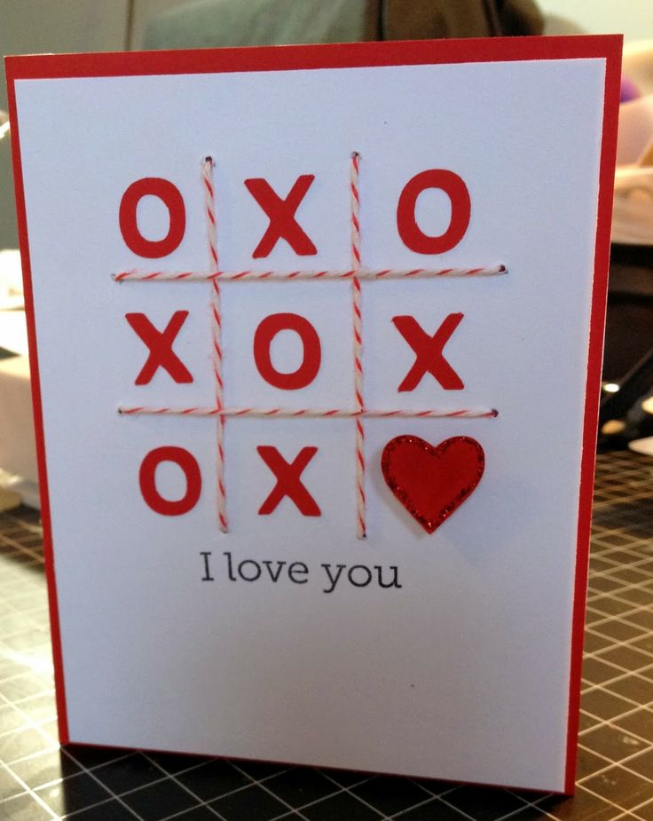 Card making ideas for valentine 39 s paper crafts pinterest for Valentines day card making ideas
