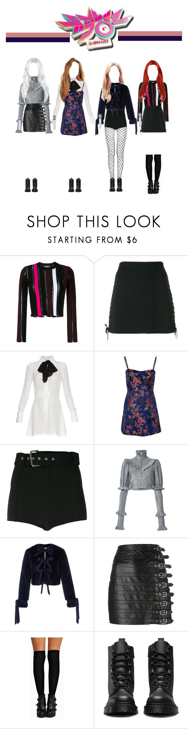 """[ Music Bank ] Do You Wanna Play ?"" by officialsrjh ❤ liked on Polyvore featuring Proenza Schouler, McQ by Alexander McQueen, Maison Margiela, Versus, Dilara Findikoglu, Jonathan Cohen, Manokhi, Boohoo, Dr. Martens and JennieSRJH"