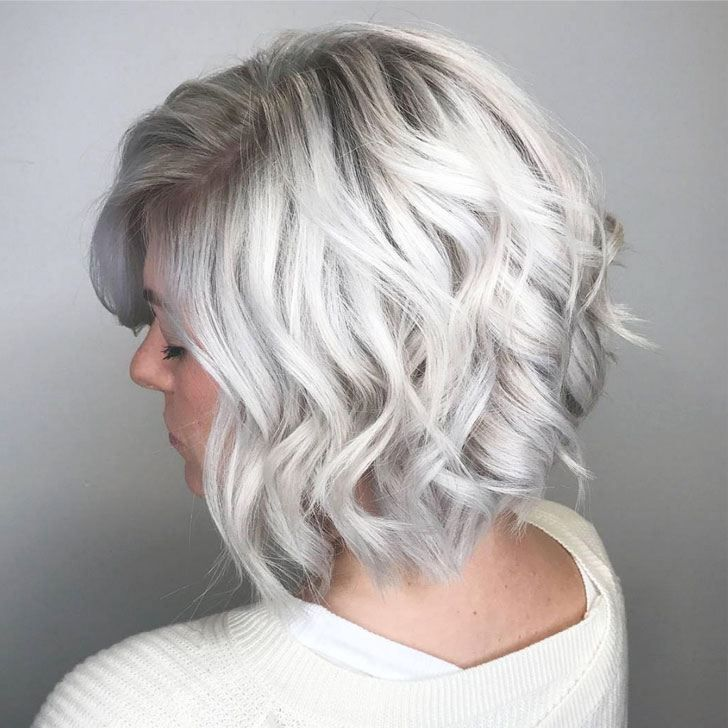 Grey Hair Styles For Young Women