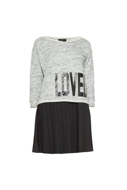 Lidia Kalita - sukienka i bluza, 550 zł #nacomaszochote http://boutiquelamode.com/