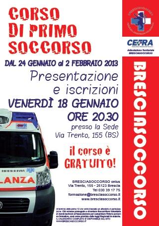 Corsi a Brescia - #primosoccorso