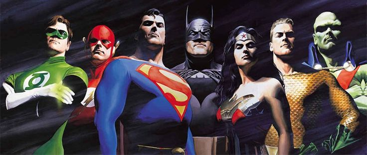 Nova coleção de pôsteres de Liga da Justiça evoca arte de Alex Ross   Pipoca Moderna